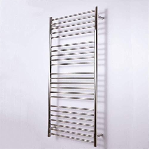 NJOLG Bathroom radiators Towel Warmer,Electric Towel Racks, Luxurious Stainless Steel Wall Mounted IP56 Waterproof…