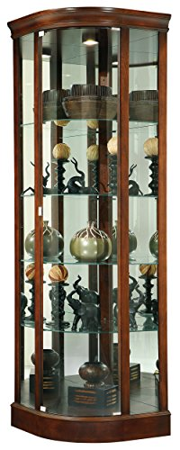 Cabinet Metal Howard Wine Miller (Howard Miller Marlowe Curio/Display Cabinet)