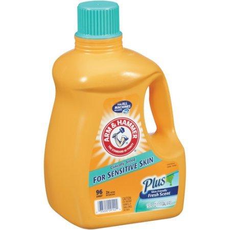 Brazo y martillo, 2 x Ultra detergente líquido para piel sensible ...