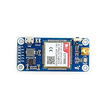 Waveshare Raspberry Pi Nb Iot Emtc Edge Gprs Gnss Hat Module Based