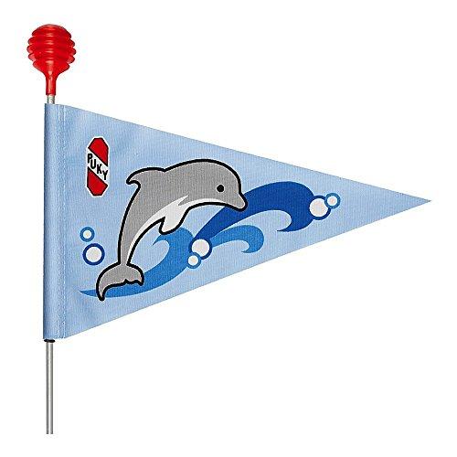 Puky 9326SW 3fanion de sécurité Z/R, bleu océan