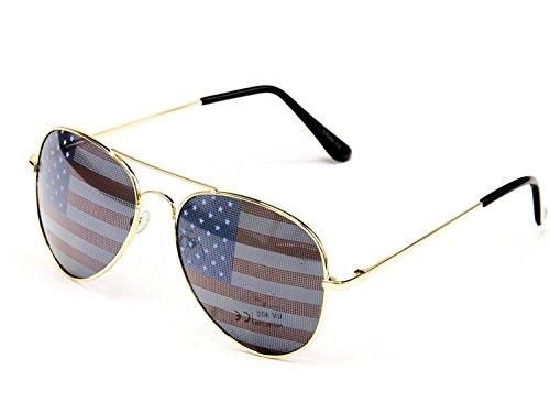 American Flag Decorative Sunglasses