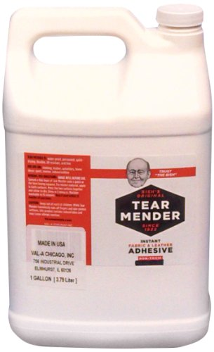 Tear Mender Instant Fabric and Leather Adhesive, 1 Gallon,  TG-128