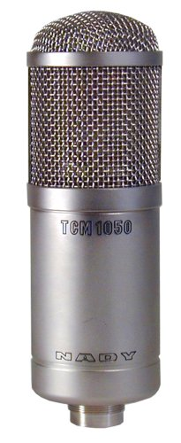 Nady TCM-1050 Vacuum Tube Condenser Microphone with Case and Shock Mount by Nady