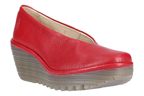 Fly Red Shoes Wedge Women's London Yaz YxrqvzY