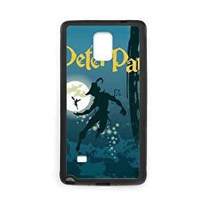 Hcwz Samsung Galaxy Note 4 Cell Phone Case Black Peter Pan