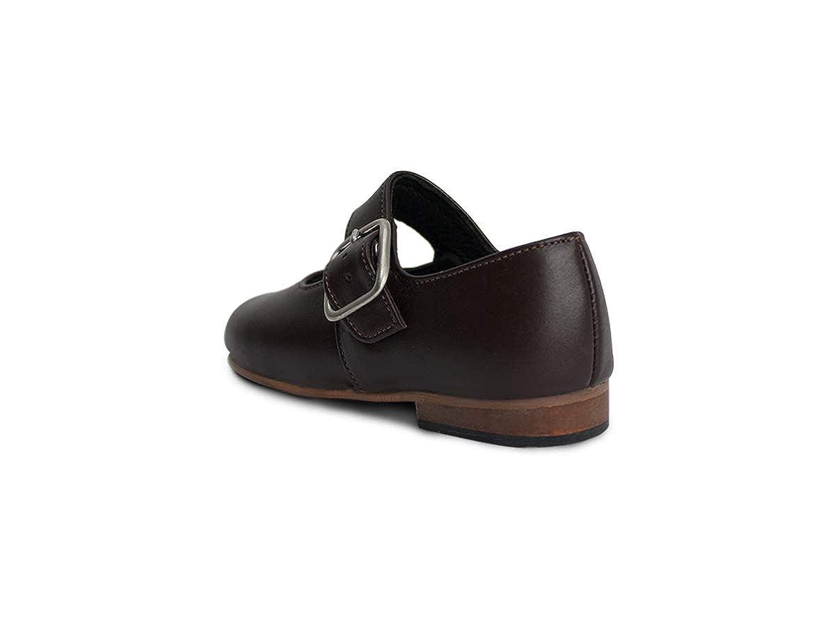 Subibaja Meghan Girls School Uniform Mary Jane Shoes for Toddlers