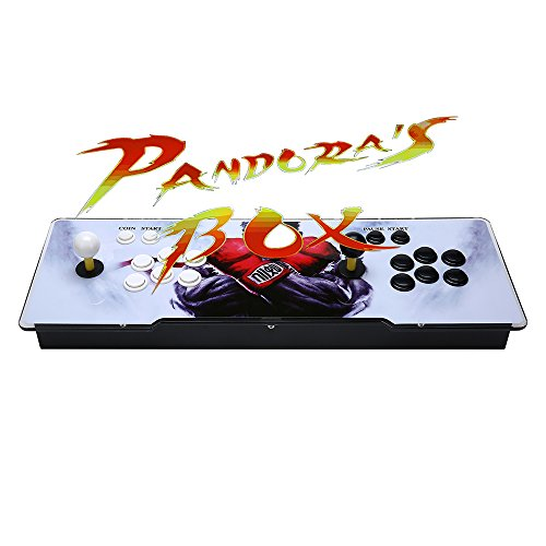 X-arcade Machine (YoungGo 1000+ in 1 Classic Arcade Game Machine 2-Players Pandora's Box 5s 1280x720 Full HD Video Game Console with Arcade Joystick Supprot HDMI&VGA Output)