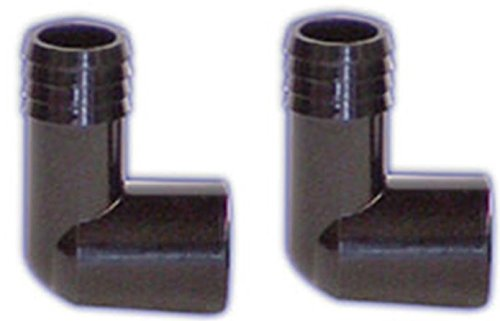 (2 Pack) Lifegard Aquatics 3/4-Inch Slip Elbow ()