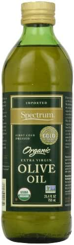 Olive Oil: Spectrum Organic Extra Virgin Olive Oil