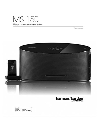 Price comparison product image Harman Kardon MS150 Music System Owners Instruction Manual