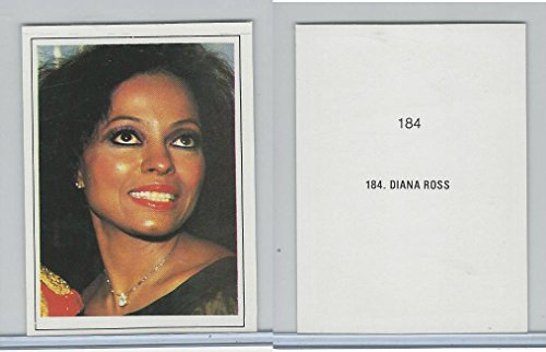 1984 MJ, Michael Jackson & Other Artists Cards, 184 Diana Ross, Music, ZQL
