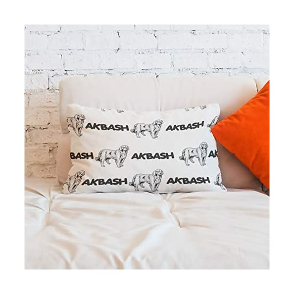 Personalized Pillow Case Akbash Dog Breed Style A Polyester Pillow Cover 20INx28IN Design Only Set of 2 6