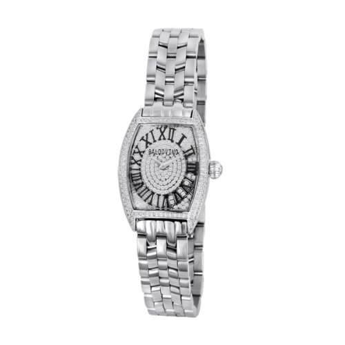 Baldovino Women's 1.27cts Diamonds Studded Watch