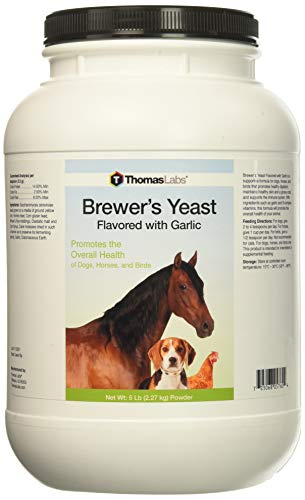 Cheap Thomas Labs Brewers Yeast and Garlic, 5 lbs, For Dogs