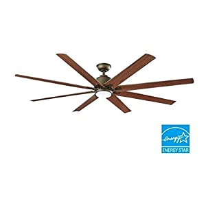 Kensgrove 72 in. LED Indoor/Outdoor Espresso Bronze Ceiling Fan by Home Decorators Collection