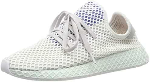 46e685c65 adidas Mens Deerupt Runner Mesh Grey One White Ice Mint Trainers 7.5 US