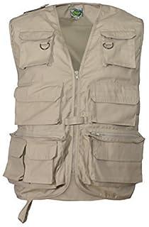 Outdoor-Multi-Pocket-Angeln Reiten Fotografie Weste ärmelloses Mesh Quick-Dry Weste Jacke (3 Farben) GAOLIXIA ( Color : ArmyGreenm , Größe : 5XL )