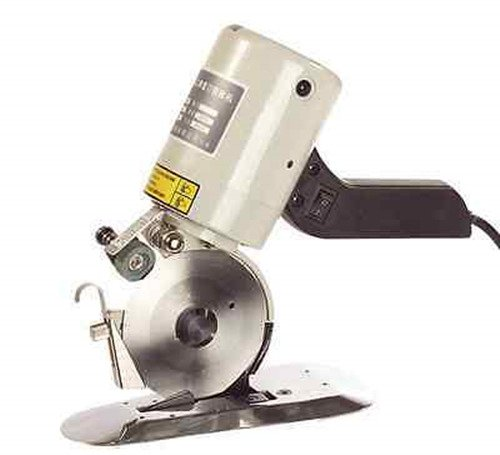 NEW 90mm Blade Electric Cloth Cutter Fabric Cutting Machine Scissors 110V ZZ