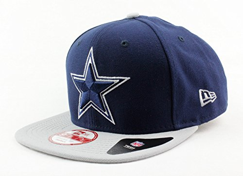 NFL Dallas Cowboys New Era 9FIFTY Snapback Hat Special Back Embroidery Mark Backer Adult One Size Navy Blue Football Cap