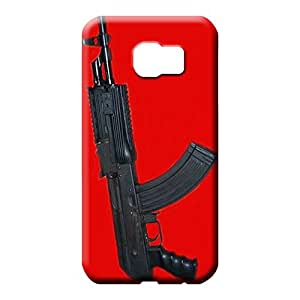 samsung galaxy s6 Popular Colorful High Quality phone case cell phone carrying shells ak47 pistol
