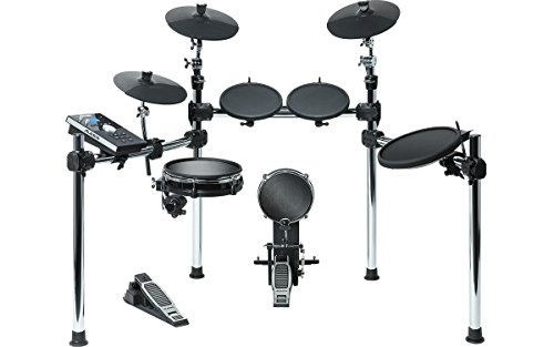 Alesis Electronic Drum Set - Alesis Command Kit | Eight-Piece Electronic Drum Set with Mesh Snare and Mesh Kick and USB Port for User-Loaded Samples