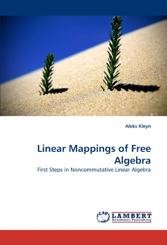 Linear Mappings of Free Algebra: First Steps in Noncommutative Linear Algebra