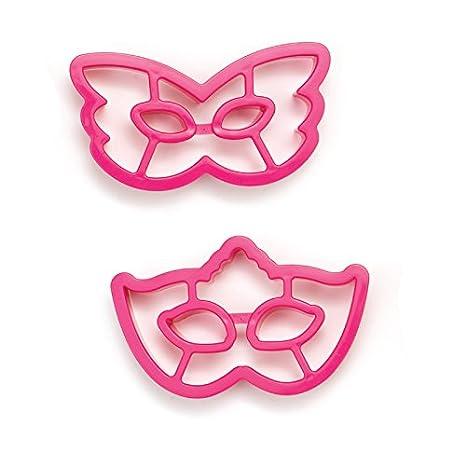 DECORA Cuadro Máscara de Corte, plástico, Fucsia, 2 Piezas: Amazon.es: Hogar