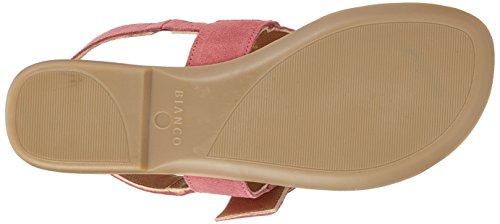 Bianco Round Buckle Sandal, Women's Heels Sandals Pink (Rasberry 51)