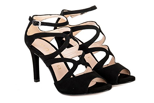 UNISA Calzature Sandalo Donna WENCE KS Black PE17