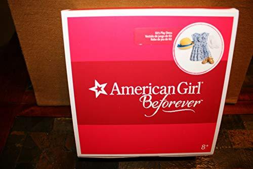 American Girl Historical BeForever Kit Kittredge Kit's Blue Play Dress Outfit 18 Inch Dolls
