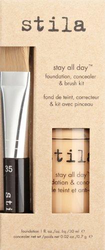 stila Stay All Day Foundation, Concealer & Brush Kit, Tone