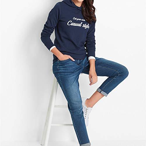 Femmes Femme Blouse Tops Shirt Marine Capuche Casual Chemise Longues Sweat Longues Lettre Shirt Chic Top Pull Manches Pull Manches Imprimer Lache T8XnTxw