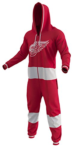 fan products of On Sale Detroit Red Wings Ice Hockey Team Color Logo NHL Licensed Onesies Fan Apparel (Small)