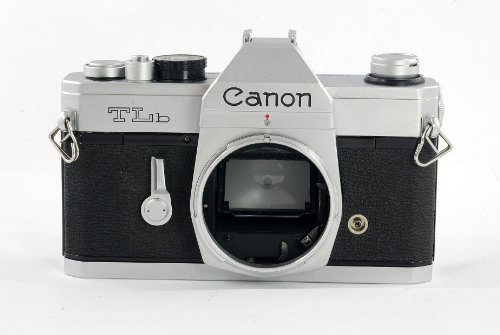 Canon TLb 35mm SLR manual focus film camera body only; lens is not included (Canon Focus Manual Camera)