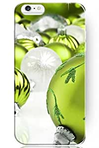"ZLXUSA(TM) New Personalized Hard Green Balls Holiday for iPhone 6 Plus (5.5"") Case"