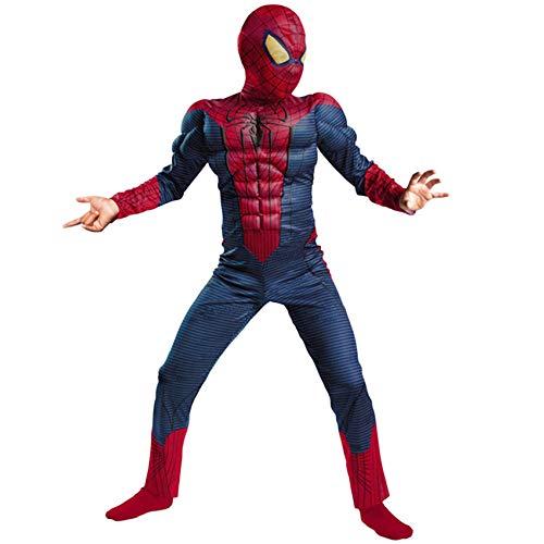 XINFUKL Traje De Spiderman Máscara De Cosplay Infantil Disfraz De ...