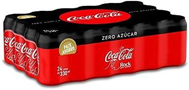 Coca-Cola Zero Azúcar Lata - 330 ml (Pack de 24): Amazon.es: Alimentación y bebidas