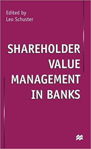 Shareholder Value Management in Banks