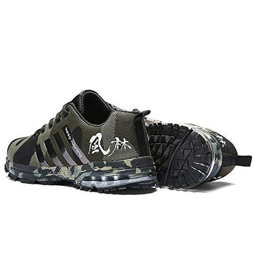 Chaussures Vert Air Hommes Sports Comptition Casual Chnhira Baskets Fitness Trainers Course Athltique D 1qTtgvW