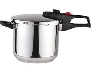 Magefesa Practika Plus Stainless Steel 6.3-Quart Super Fast Pressure Cooker