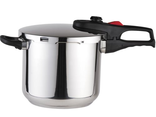 Magefesa Practika Plus Stainless Steel 6.3-Quart Super Fast Pressure Cooker