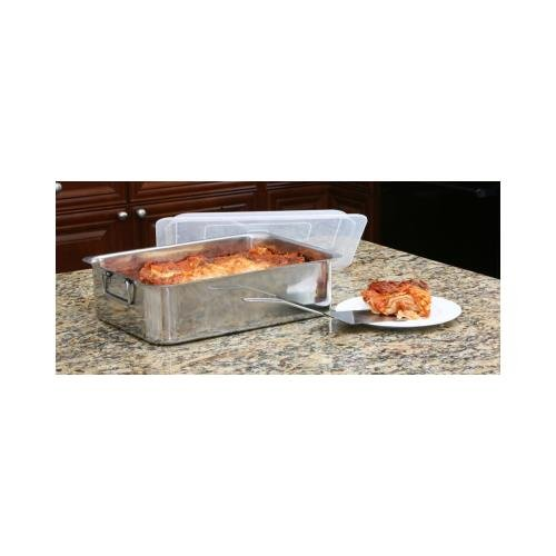 JAYBRAKE Cookpro 531 4Pc Stainless Steel Roaster Lasagna Pan Roaster by Jaybrake