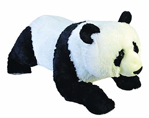 Wild Republic Jumbo Panda Plush, Giant Stuffed Animal, Plush Toy, Gifts for Kids, 30 Inches