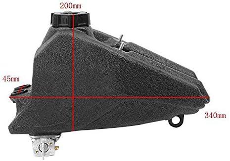 TANOU Atv Tank Fuel Tank Beach Motorcycle Fuel Tank For Atv Kazuma Meerkat Redcat Hensim 50Cc 70Cc 90Cc