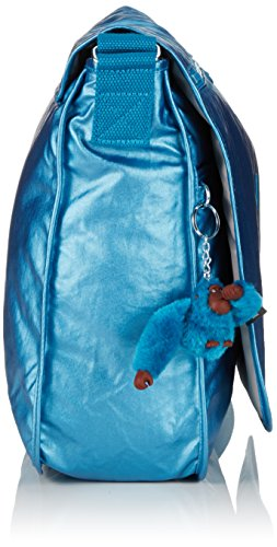 Daypack Kipling Blue Casual Metallic Casual Metallic Kipling Daypack Blue Metallic Blue qYTtR