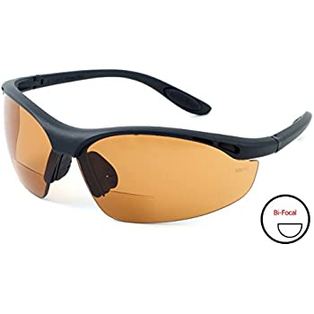 93ab4871f0 Calabria 91348 Bi-Focal Safety Glasses UV Protection in Copper +2.00