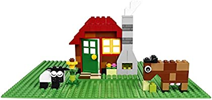 LEGO Classic Green Baseplate 1 Pc Large Building Accessory Mat Display Creations