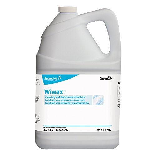 Diversey 94512767 Wiwax Cleaning & Maintenance Emulsion, Liquid, 1 Gallon Bottle (Case of (Protect Emulsion)