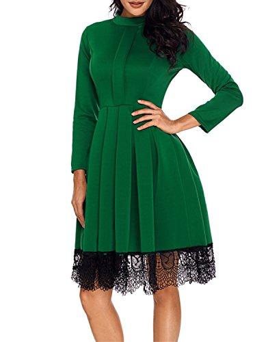 Festliche kleider lang grun